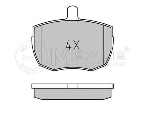 Комплект дискових гальмівних колодок  арт. 0252035918