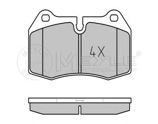 Колодки тормозные (передние) BMW 7 (E38) 94-01/8 (E31) 90-99  арт. 0252147118