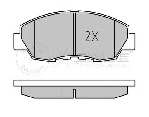 Тормозные колодки  арт. 0252149918W