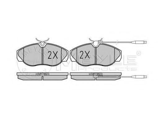 Тормозные колодки MEYLE 0252179719W