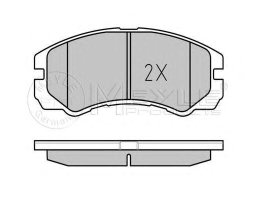 Тормозные колодки  арт. 0252184516W