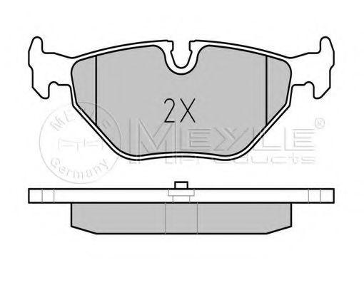 Колодки тормозные (задние) BMW 3 (E46) 98-  арт. 0252193417