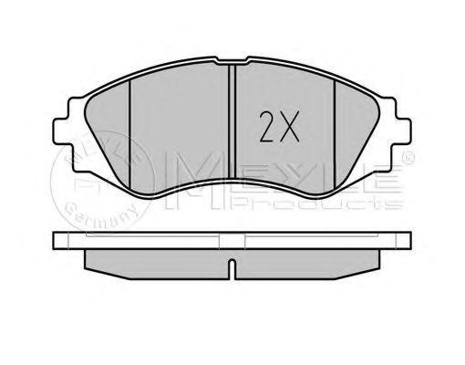 Тормозные колодки Lanos R14  арт. 0252323417W