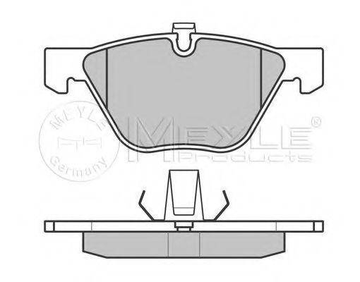 Комплект дискових гальмівних колодок  арт. 0252331320
