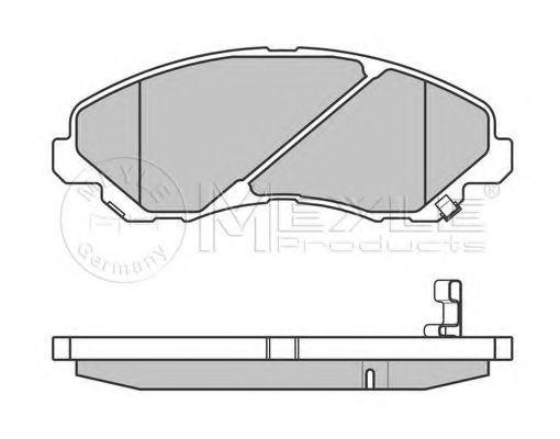 Комплект дискових гальмівних колодок  арт. 0252358416W