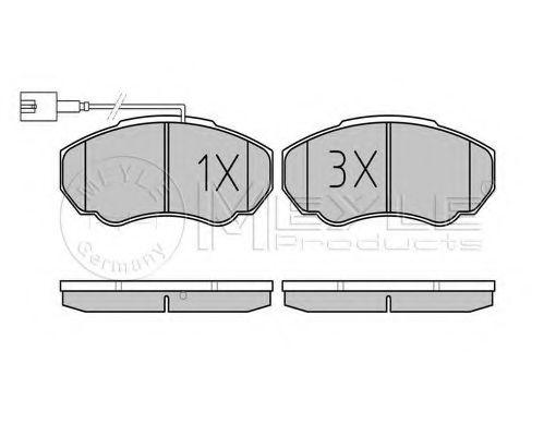 Колодки тормозные (передние) Citroen Jumper/Fiat Ducato/Peugeot Boxer 02- R15  арт. 0252391719W