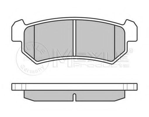 Колодки тормозные (задние) Chevrolet Lacetti 05-  арт. 0252407114