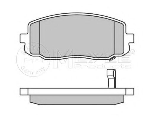 Комплект тормозных колодок, дисковый тормоз  арт. 0252427516W