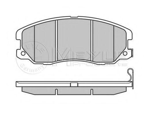 Колодки тормозные (передние) Chevrolet Captiva/Opel Antara 2.0-3.2 CDTI 06-  арт. 0252451016W