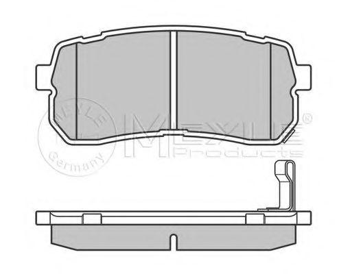 Колодки тормозные (задние) Hyundai H1/Starex 08-/KIA Carnival 06-  арт. 0252455915W