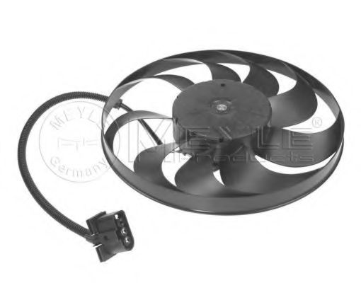 Вентилятор радиатора Skoda Fabia в интернет магазине www.partlider.com