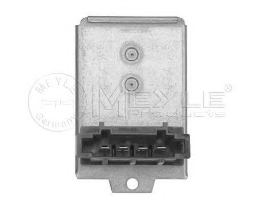 Резистор, вентилятор салона MEYLE 1008000034