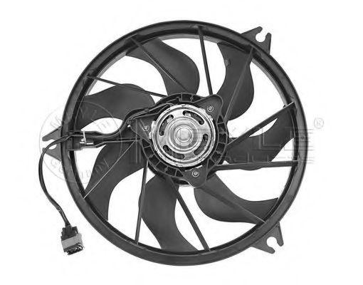 Вентилятор, охолодження двигуна MEYLE 11142320003