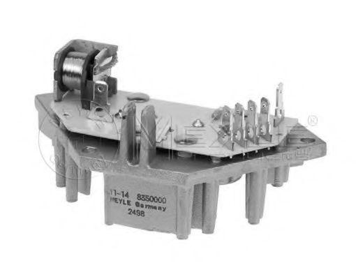 Блок управление отоплением Блок управления отопление / вентиляция MEYLE арт. 11148350000