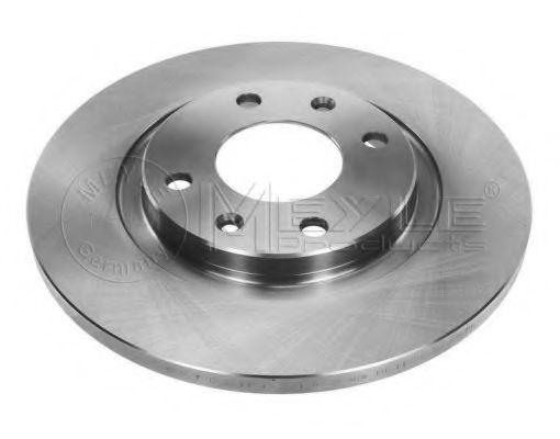 Тормозной диск передний MEYLE 11155210016