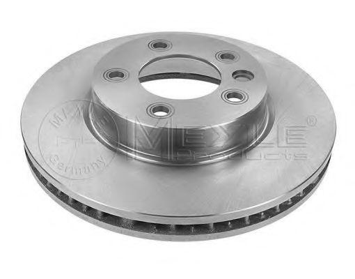 Тормозной диск вентилируемый передний правый VW TOUAREG MEYLE 1155211102