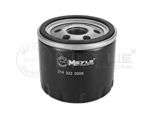 Фильтр масляный Fiat Doblo 1.9JTD/1.9D Multijet 01-  арт. 2143220006