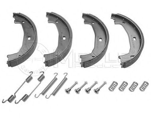 Аксессуары Колодки гальмівні барабанні з аксесуарами BMW E46  арт. 3140420006S