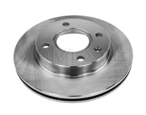 Тормозной диск передний вентилируемый MEYLE 7155217017