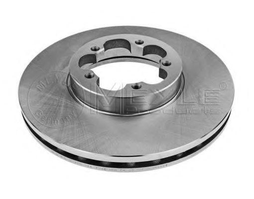 Тормозной диск передний вентилируемый MEYLE 7155217042
