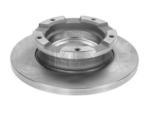 Тормозной диск MEYLE 7155230013