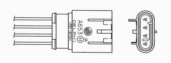 Лямбда-зонд  арт. 95607