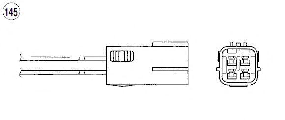 Лямбда-зонд NGK 90480