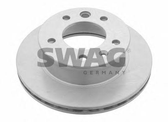 Тормозной диск SWAG 10907517
