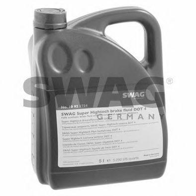 Тормозная жидкость DOT 4, 5L  арт. 10921754