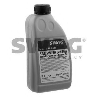 Моторное масло синтетическое д/авто SAE 5W30 Longlife 1L SWAG 15932941