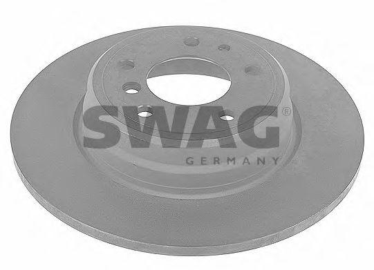Тормозной диск задний SWAG 20910755