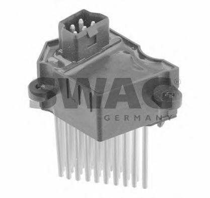 Блок управление отоплением Блок управления, отопление/вентиляция SWAG арт. 20924617
