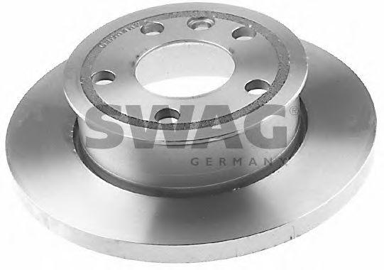 Тормозной диск передний SWAG 30906547