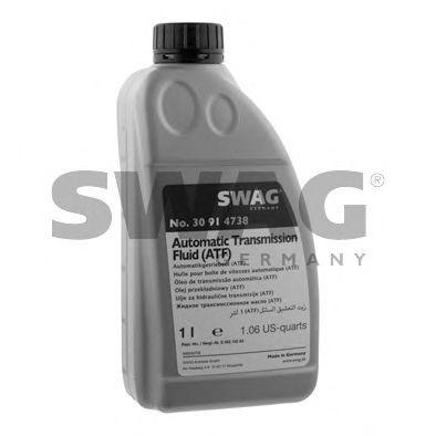 Автотрансмиссионное масло (ATF) (желтое) 1L SWAG 30914738