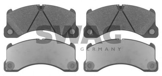 Тормозные колодки дисковые SWAG 30916837