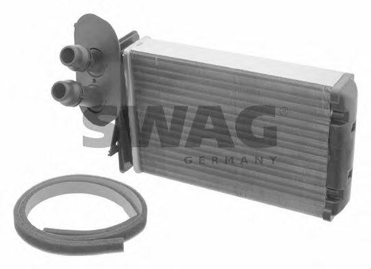 Теплообменник, отопление салона SWAG 30918764