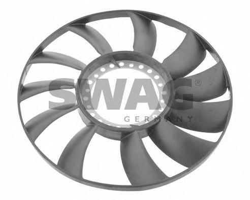 Крыльчатка вентилятора, охлаждение двигателя SWAG 32926565