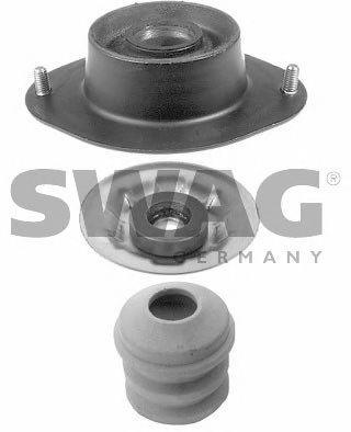 Фото - Верхняя опора амортизатора (передняя ось, двусторонне) SWAG - 40550003