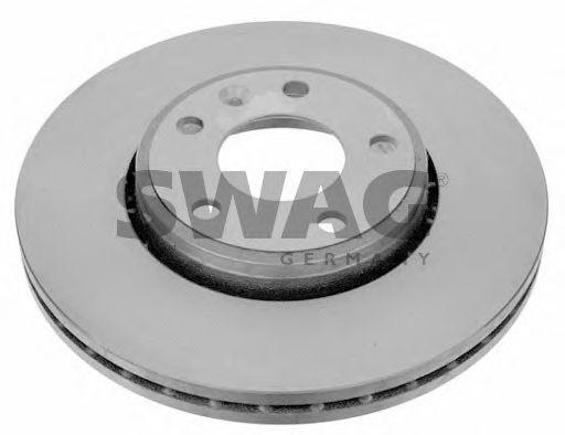 Тормозной диск вентилируемый передний Opel VIVARO SWAG 60922698