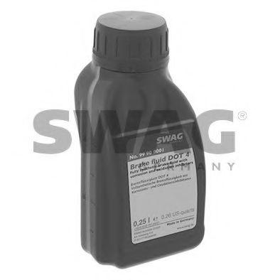Тормозная жидкость DOT 4, 0,25L  арт. 99900001