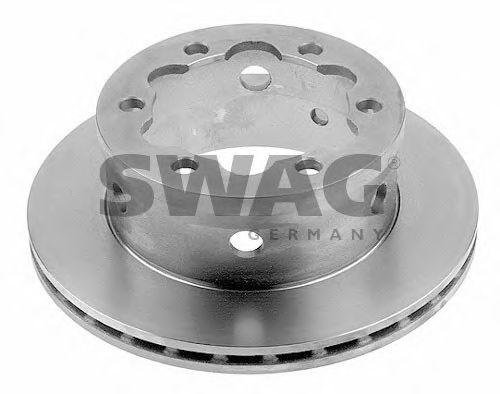 Тормозной диск SWAG 99910639