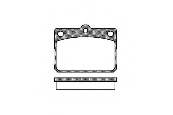 Колодки тормозные дисковые, к-кт.  арт. 207920