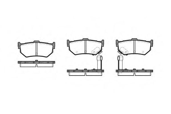 Колодки тормозные дисковые, к-кт.  арт. 218302
