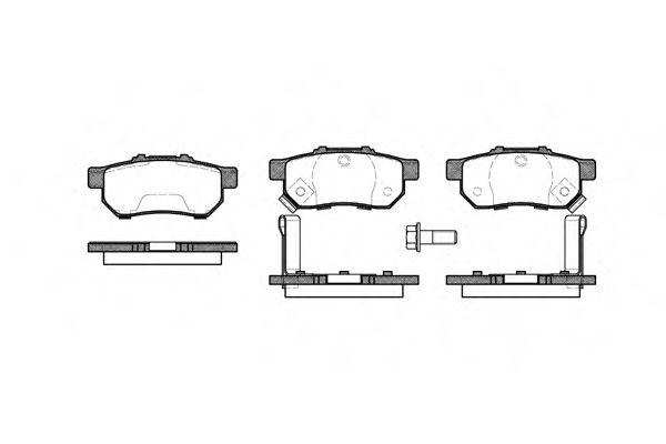 Колодки тормозные дисковые, к-кт.  арт. 223352