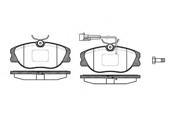 Колодки тормозные дисковые, к-кт.  арт. 230512