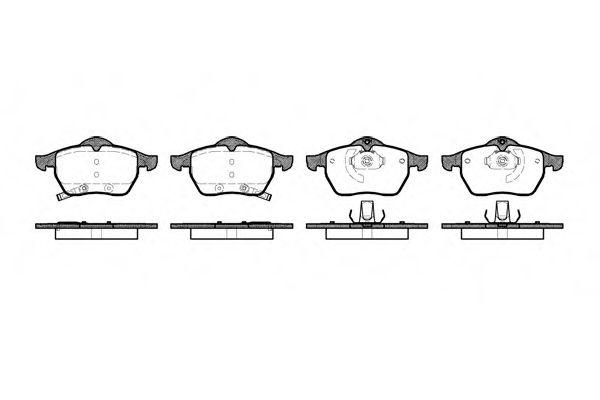 Колодки тормозные дисковые, к-кт.  арт. 239032