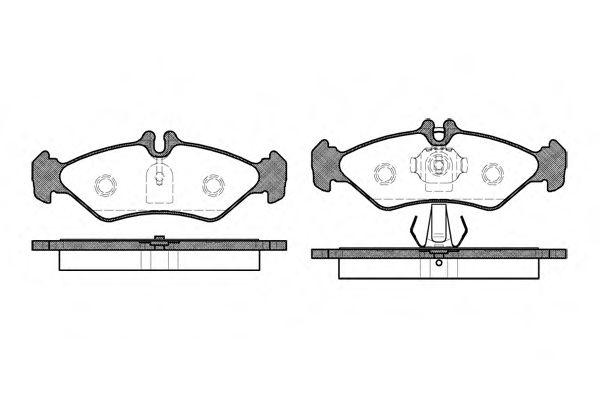 Колодки тормозн. задн. DB Sprinter/VW LT28-35 96-06 /ATE/ ROADHOUSE 257900