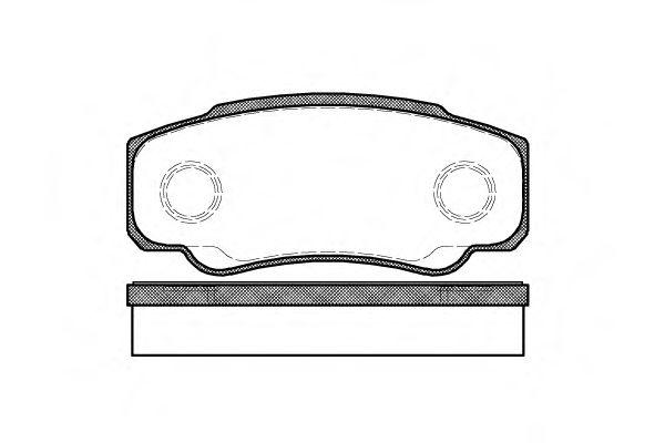 Тормозные колодки зад. Jumper/Ducato/Boxer 02-06  арт. 296100