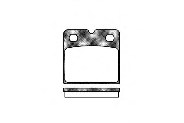 Колодки тормозные дисковые, к-кт.  арт. 2106700