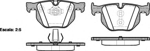 Колодки тормозные дисковые, к-кт.  арт. 238161